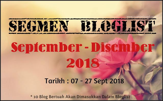 SEGMEN BLOGLIST : SYAMIMI SAAD
