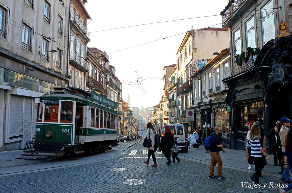 Rua 31 de janeiro de Oporto