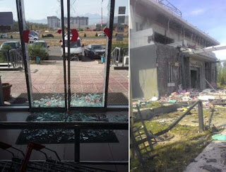 Взрыв у посольства Китая в Бишкеке устроил террорист-смертник