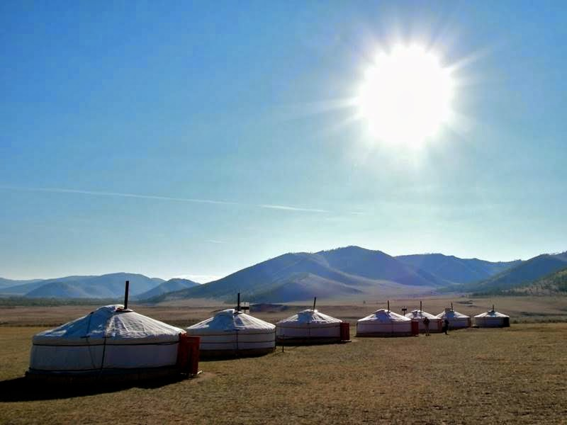 Traditional Portable Mongolian habitation | Mongolian Ger