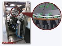 Unscrambler dengan sistem hemat udara kompresor