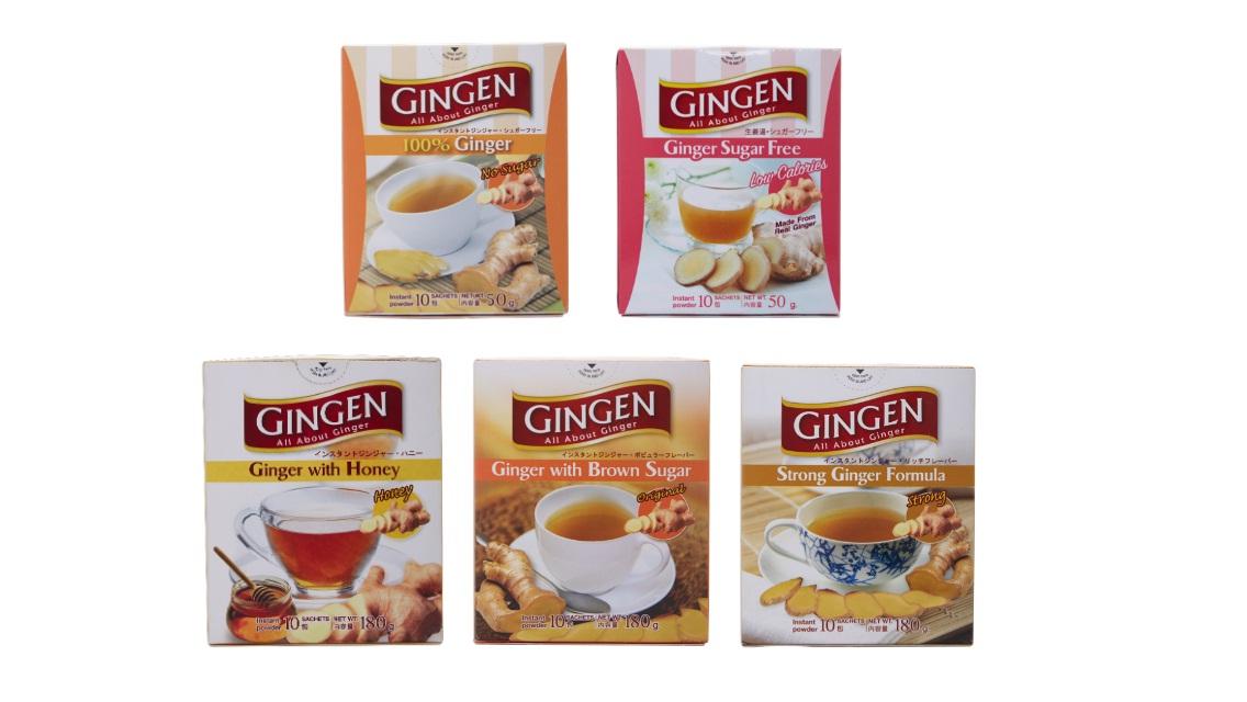Gingen Ginger Tea and Nature Green Instant Lemongrass Drink – The Perfect Alternatives for Mooncake Pairing!