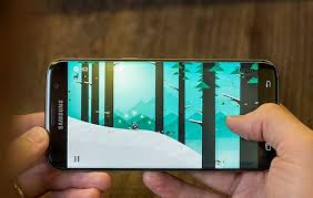Gambar layar smartphone