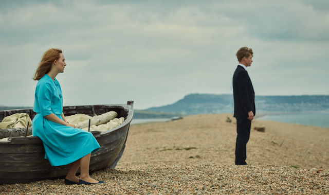 Review On Chesil Beach The Beautiful Scene of The Sea Shore in Abbotsbury United Kingdom Chesil Beach Movie