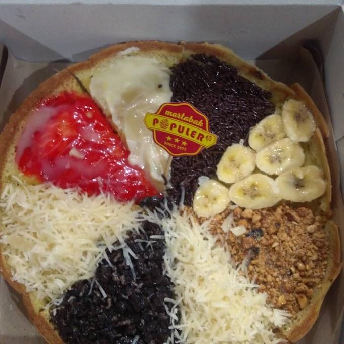 7  Martabak & Kue Terang Bulan Paling Enak di Bojonegoro
