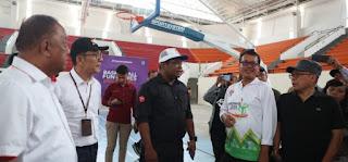 Deputi Pembudayaan Olahraga Kemenpora Puji Progres Pembangunan Venue di Mimika