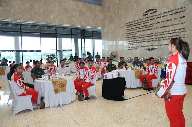 Panglima TNI : Bangga Atas Prestasi Tim Karate Indonesia Pada Sea Games 2019