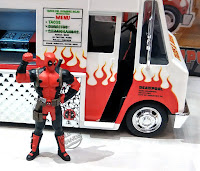 Toy Fair 2018: JADA Metals Deadpool Taco Truck