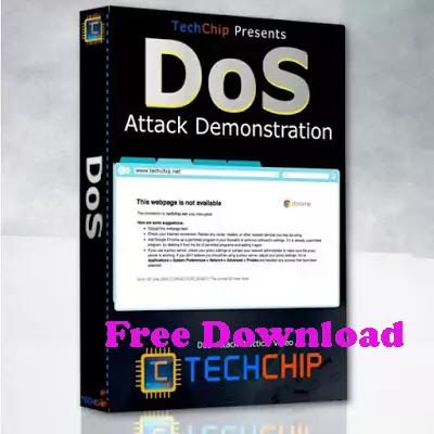 Take down website DOS attack Teach Chip course Free Download