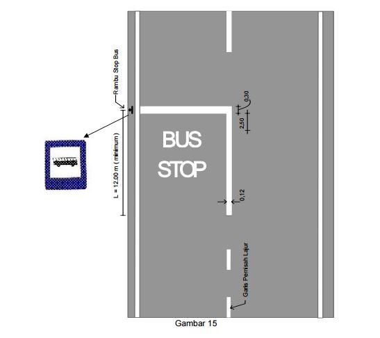 marka lambang sebgai tempat mobil bus