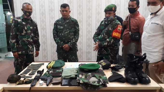 12 Tahun Jadi TNI Gadungan 'Kedok Muslianto Dibongkar Babinsa Kodim 0201/BS