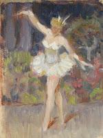 Portrait Study of Ballerina, Nicolas Becker