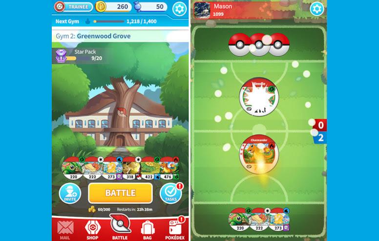 Pokémon Medallion Battle Gym