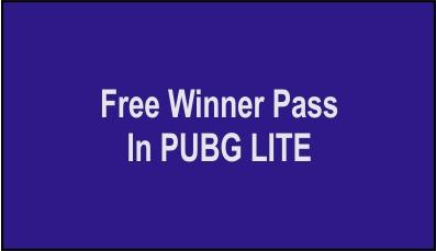 How To Get Free Season 15 Winner Pass In PUBG MOBILE LITE