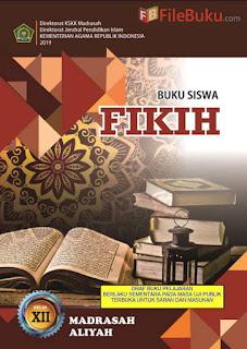 Buku Siswa Fikih MA Kelas 12-XII Kurikulum 2013 Revisi 2019