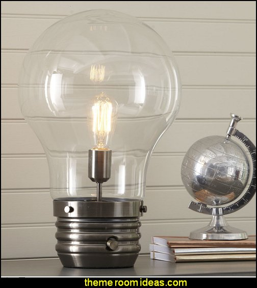 industrial lamp industrial furniture Industrial style decorating ideas - Industrial chic decorating decor - Gears decor - City living urban style - Modern Industrial - Industrial urban loft decorating ideas - industrial bedroom ideas