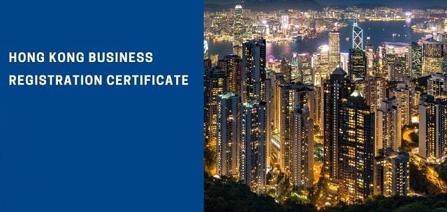 hong kong business registration certificate company registry