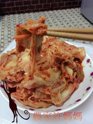 醬汁溫醇如何製作韓式泡菜-還是農家許媽媽韓國泡菜好吃