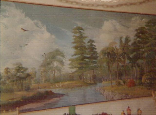 Ossabaw Island painting, landscape painting, Georgia painting, Francis Quirk Ossabaw island image