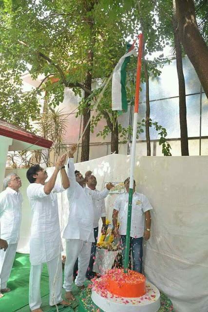 pawan kalyan flag hoisting jana sena party office photos%2B%25285%2529