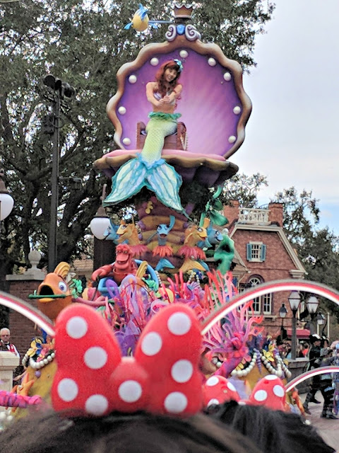 Celebrating my Birthday at the Magic Kingdom - Magic Kingdom Parade - Ariel