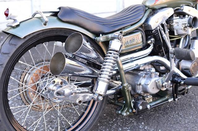 Harley Davidson Shovelhead 1981 By Kick Back Hell Kustom
