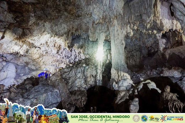 caves were gifted with impressive geological features possessing both stalactites and stalagmites