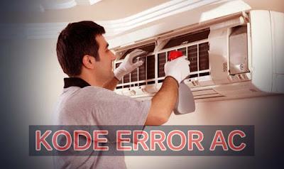 Cara Mengatasi Kode Error AC Sharp