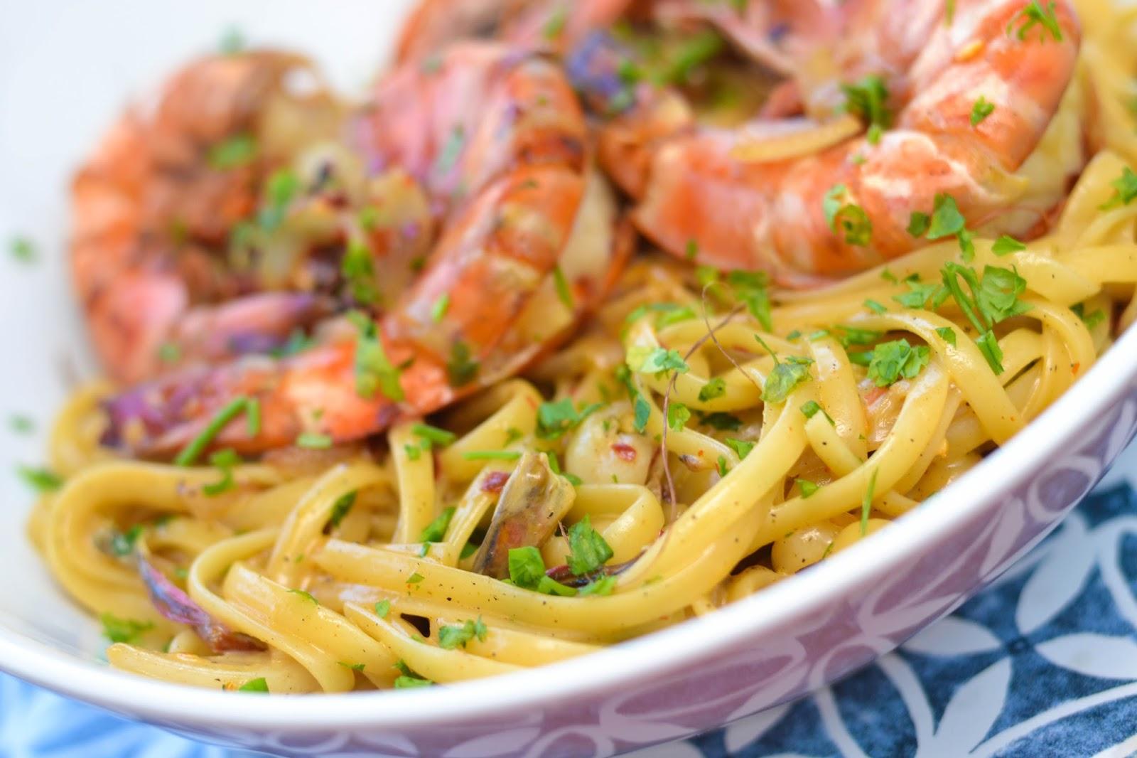 Best Seafood Pasta in Lagos Nigeria