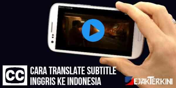 cara translate subtitle