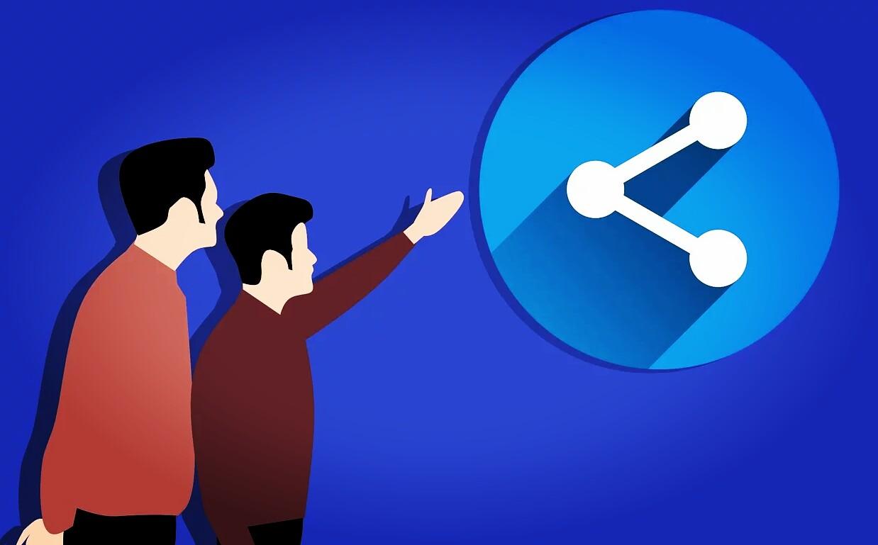 Menghilangkan tombol share kiriman difacebook