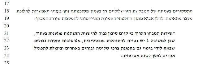 """קטע הרלוונטי מהחלטת השופט אברהם הימן מ""""ת 14280-04-17 מה- 12.04.2018"""