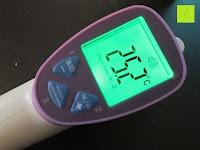 Erfahrungsbericht: GHB Kontaktloses Infrarot Stirnthermometer Fieberthermometer Köperthermometer Temperature für Baby und Haushalt