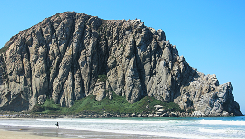 morro bay california surf beach