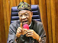 Lai Mohammed is suspecting Twitter for deleting the president's post from their platform