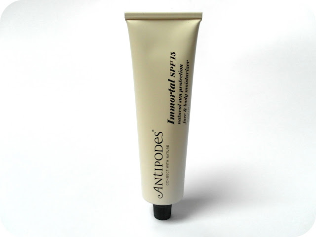 A picture of Antipodes Immortal SPF15 Natural Sun Protection