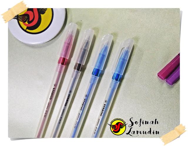 Koleksi Alat Tulis | Ball Pen Untuk Menulis Nota Atau Mencatat | Review dan Kelebihan Ball Point Pen Mengikut Jenama Alat Tulis - Stabilo Galaxy 818 Medium Ball Point Pen