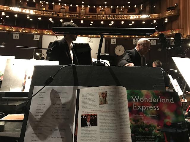 Lyric Opera Orchestra Pit