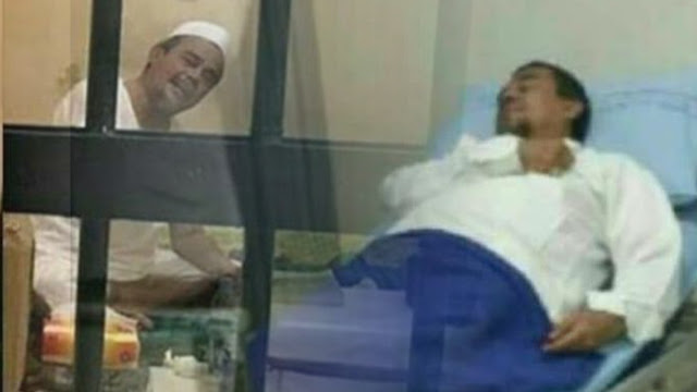 Sempat Sesak Napas, Habib Rizieq Kini Didampingi Dokter Pribadinya dari Mer-C