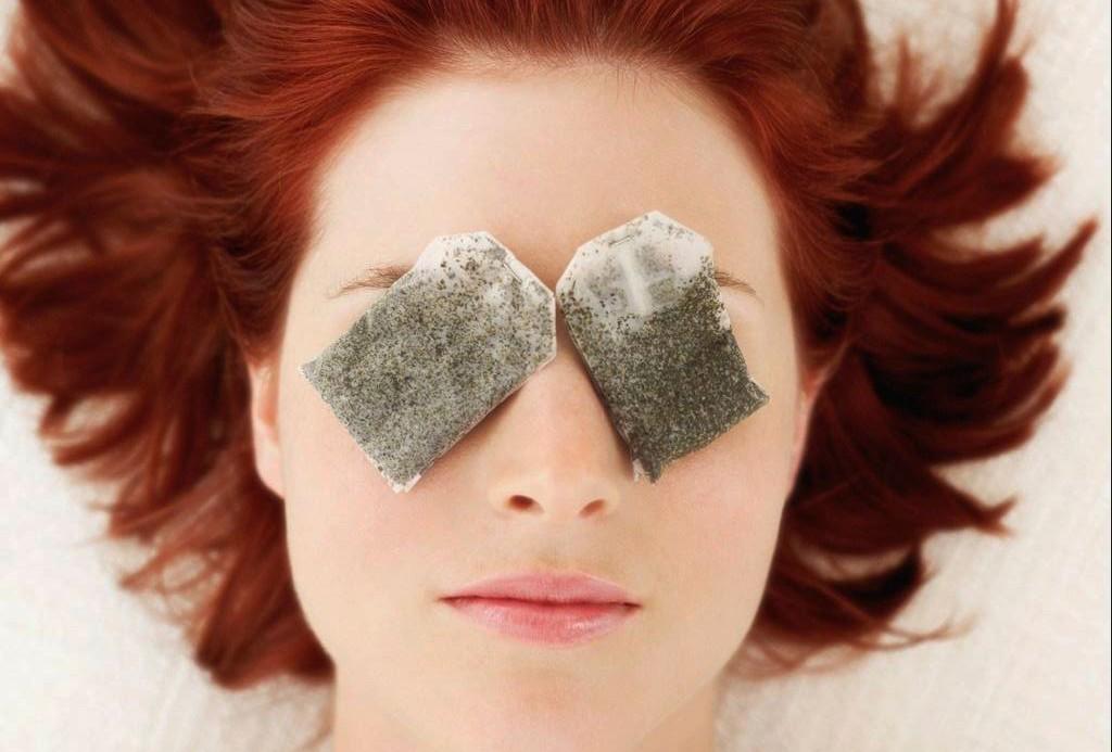 Kết quả hình ảnh cho Mặt nạ từ túi trà