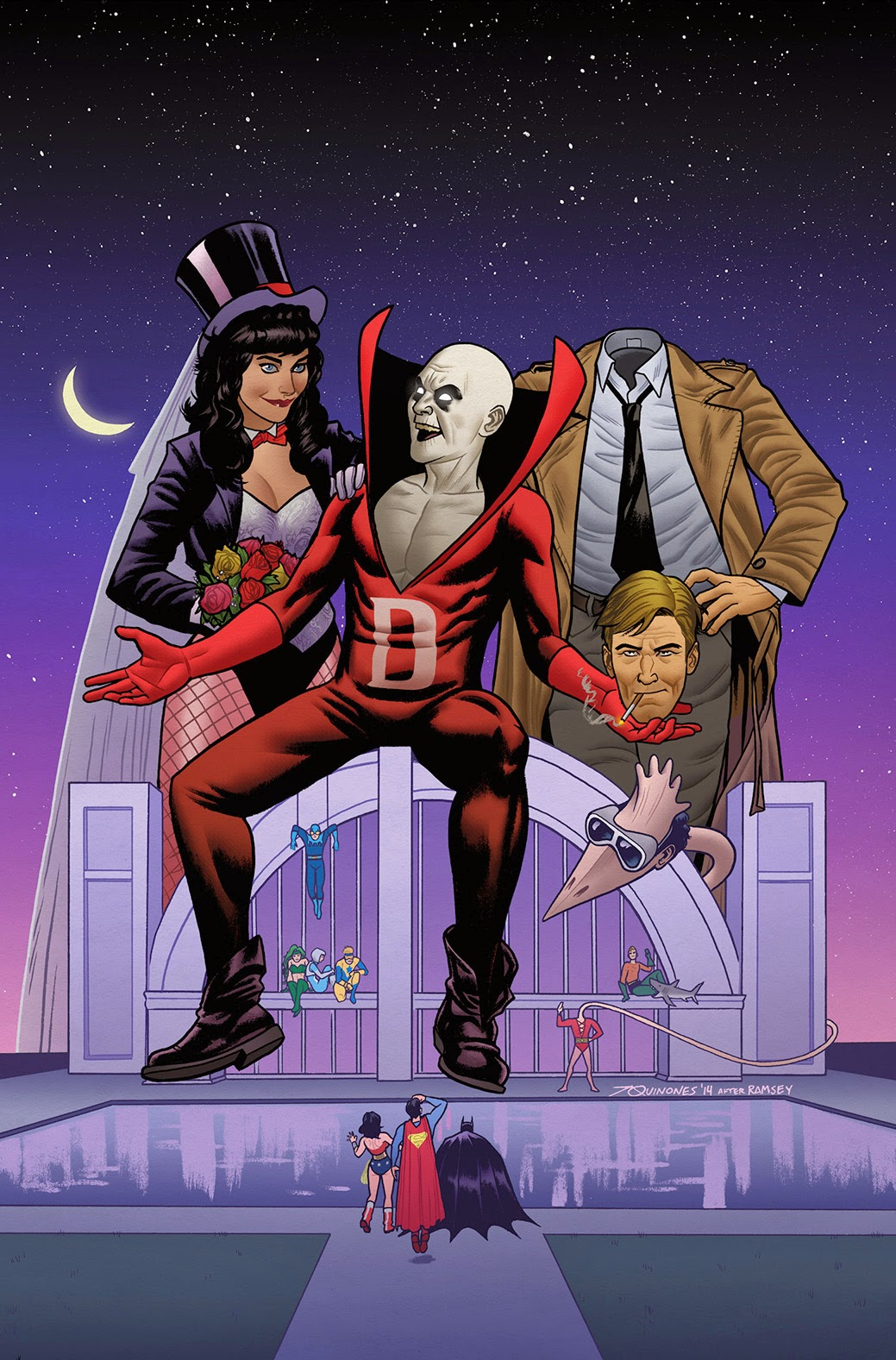 Justice League Dark / Beetlejuice