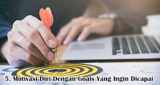 Motivasi Diri Dengan Goals Yang Ingin Dicapai  merupakan salah satu tips ampuh untuk atasi rasa malas setelah libur lebaran