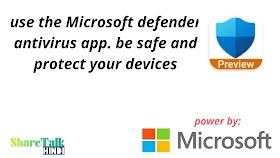 Microsoft defender app kya hai use keise karte hai