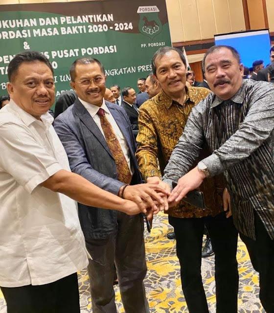 Gubernur Hadiri Pengukuhan dan Pelantikan PP Pordasi