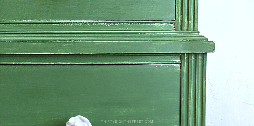 painted dresser ideas, green painted dresser, milk painted dresser