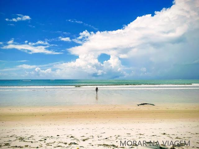 Praia da Cueira na Ilha de Boipeba
