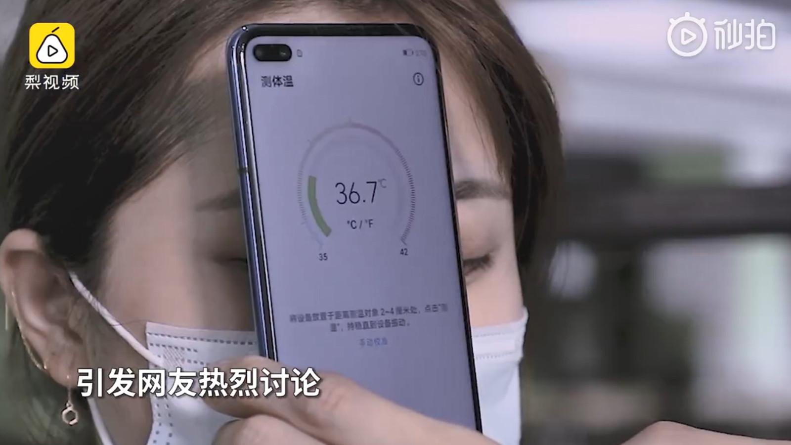[Ci ha pensato Huawei] Ecco lo smartphone che ti misura la febbre