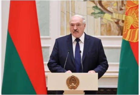 Belarus has told the US president that it has not seen any police abuse