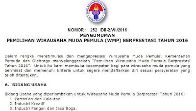 WMP Berprestasi 2016