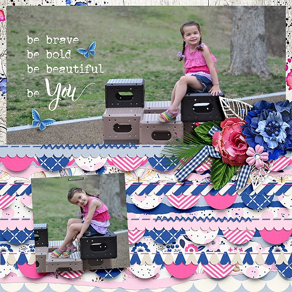 Shape Up digital scrapbooking designs